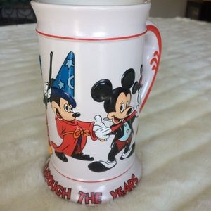 Mickey Through the Years collectors stein